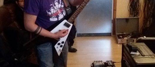 Recordings guitars album n°3 started